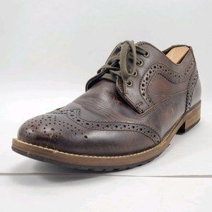 Franco Fortini   Madrid Brown Derby Shoes 10.5